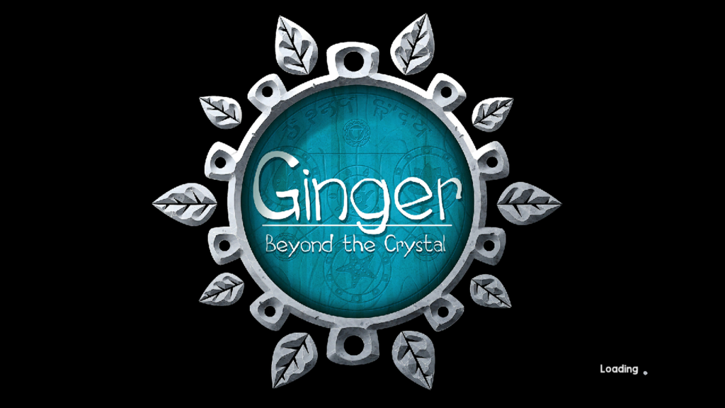ginger beyond the crystal loading screen