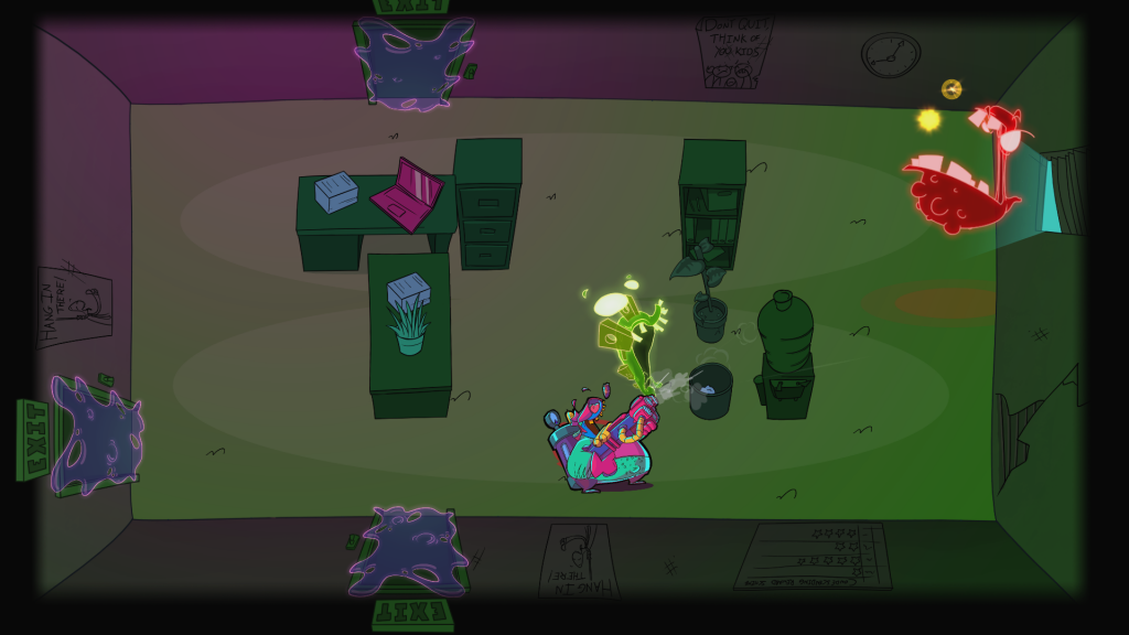Dungeon Crawler Meets Ghost Busters in Dead End Job – Big Boss