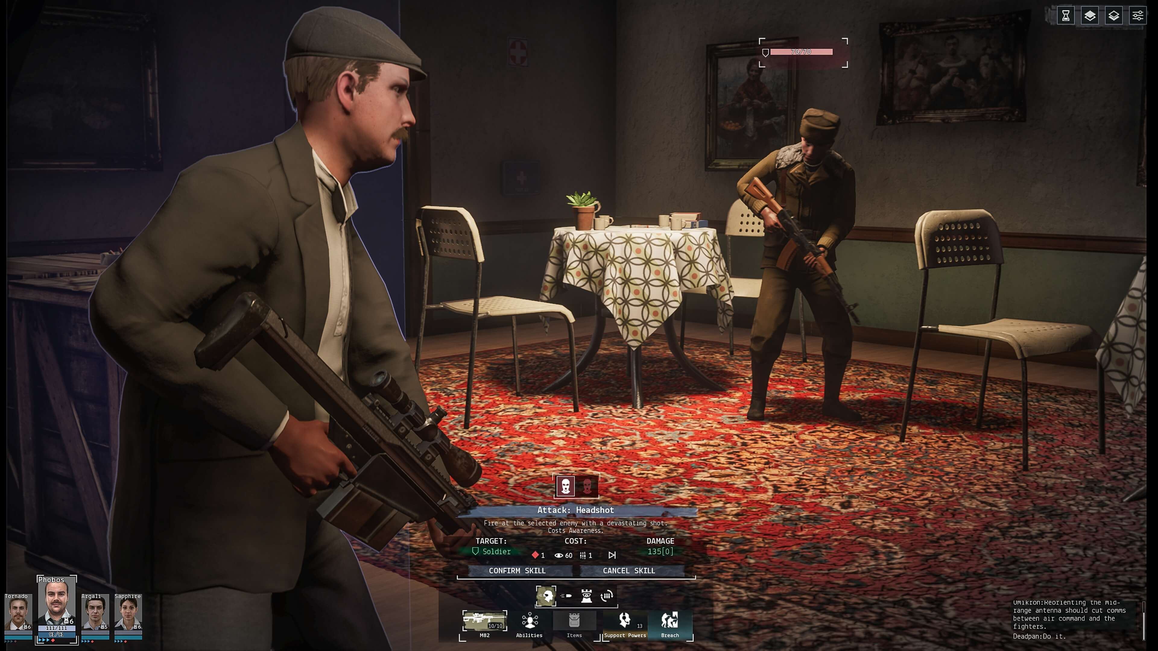 Phantom Doctrine is a Squad-Based Tactics Game Which has you Save