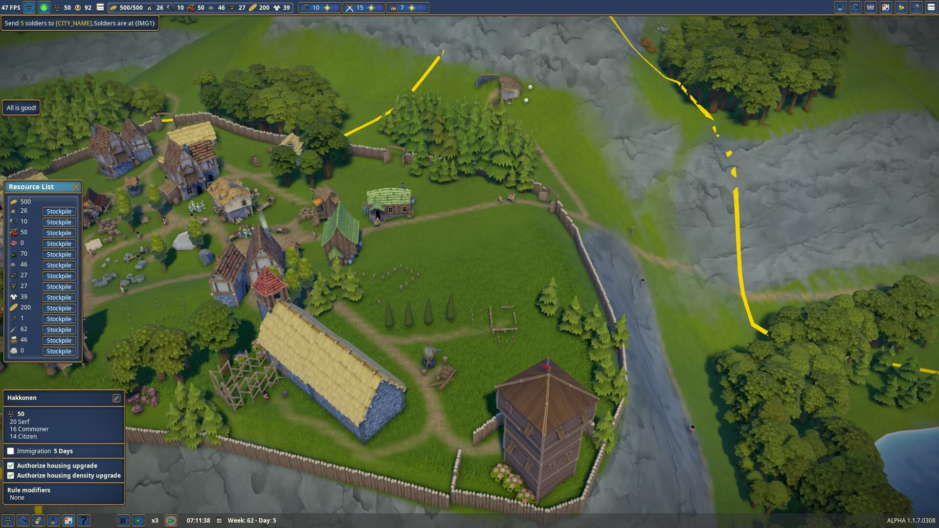 Foundation Polymorph Games foundation — the picturesque, village-building beta – big