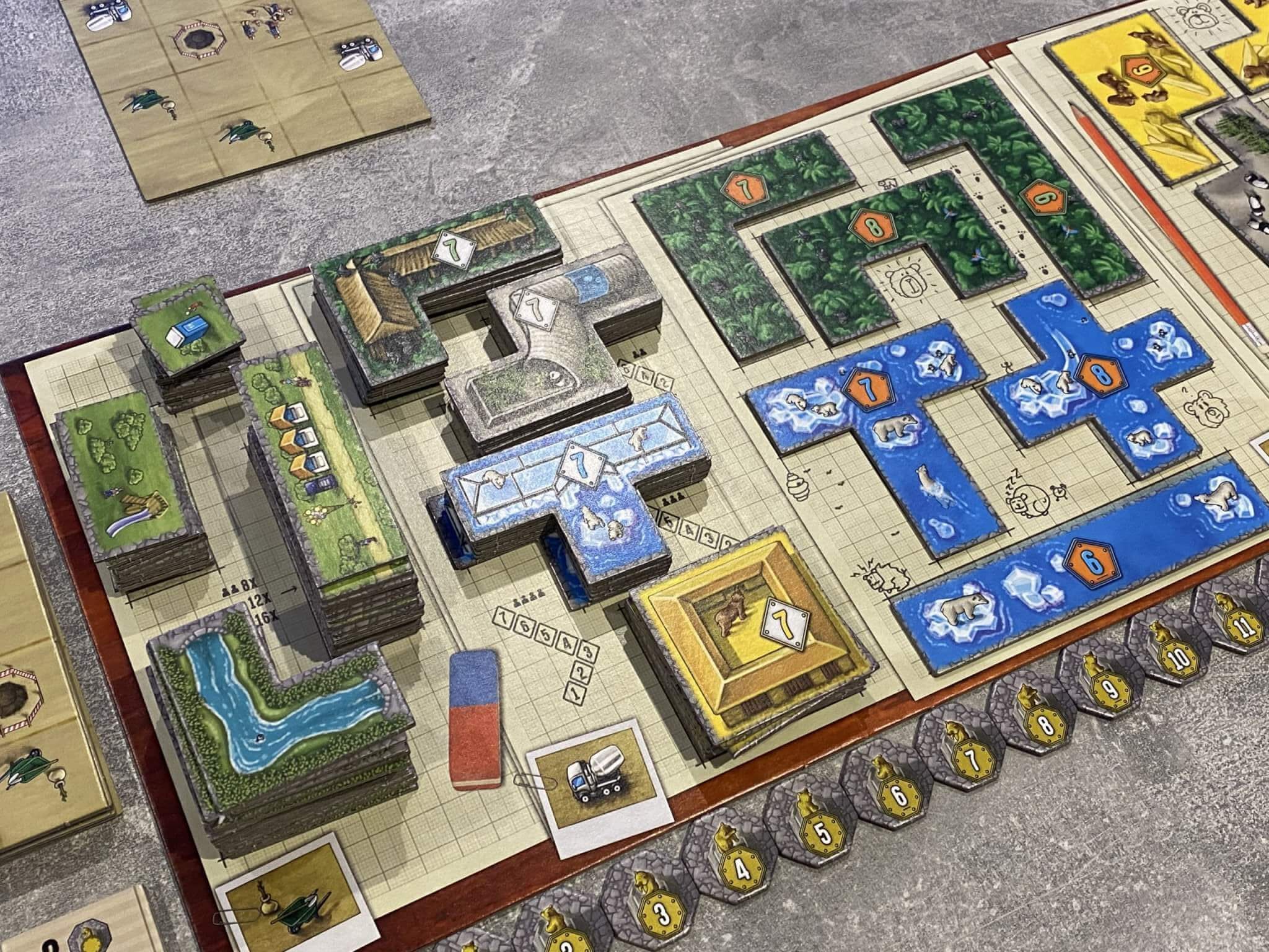 Barenpark Is Cheap Simple And One Of The Best Tile Placement Games Money Can Buy Big Boss Battle B3